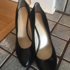 Nine West Black Platform Heels